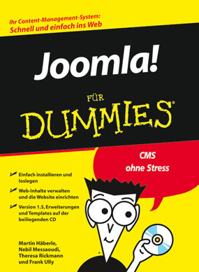 Joomla für Dummies Cover
