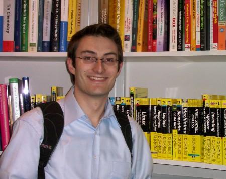 Martin vor Dummies-Büchern